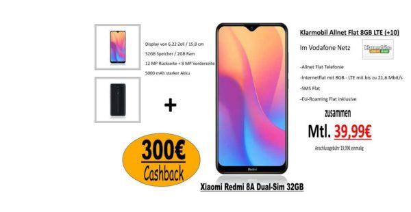 Handyvertrag mit 300€ auszahlung