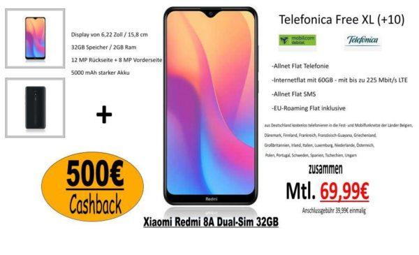 Handyvertrag mit 500€ auszahlung