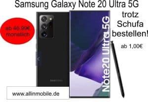 Samsung Handy trotz Schufa