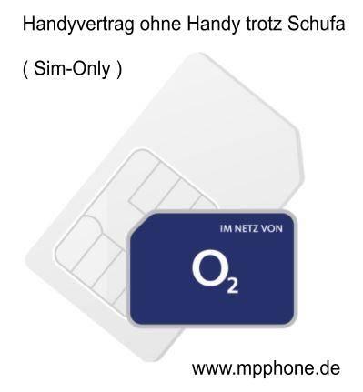 Handyvertrag ohne Handy